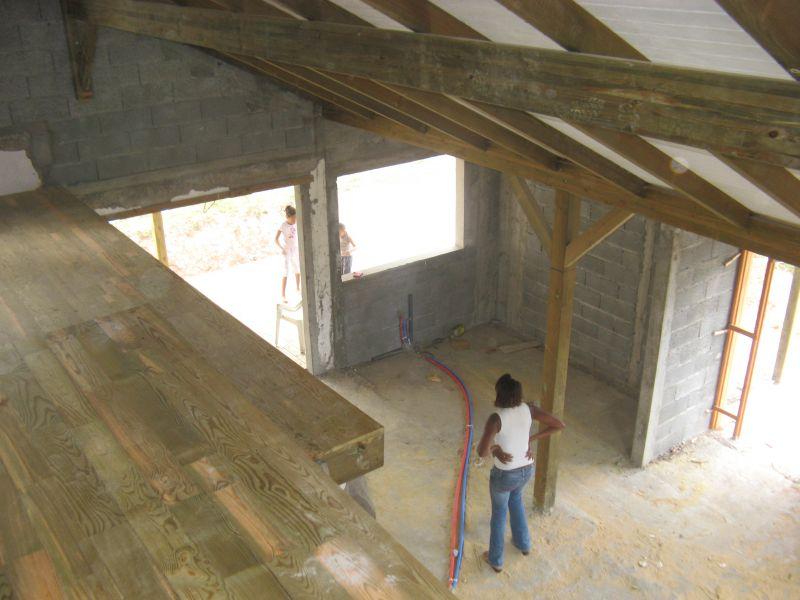 deck mezzanine ok il tait une fois notre maison. Black Bedroom Furniture Sets. Home Design Ideas